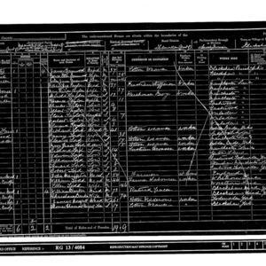 1901 census-Blackshaw-enumeration district 3_page131.tif