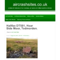 Halifax Mk II DT581 - crashed - Hoar Side Moor - 1943 - aircrashsites.pdf