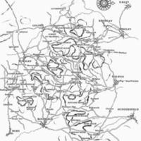 Ancient Highways in the South Pennines Based on Yates map of the County Palatine of Lancaster (1786) and Jeffery map of the County of Yorkshire (1775).bmp