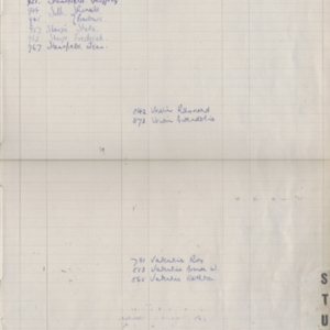 Colden School - Register of Admission and Withdrawl - 1920-1957_ALPHA_INDEX -page 13.jpg