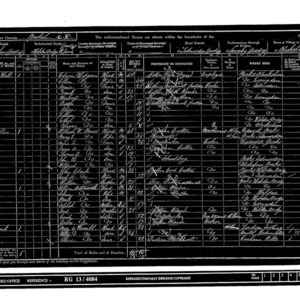 1901 census-Blackshaw-enumeration district 29_page7.tif