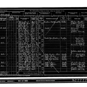 1901 census-Blackshaw-enumeration district 3_page8.tif