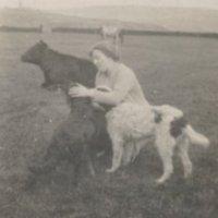Mrs Brown at Erringden Grange - 1930.jpg