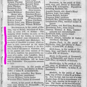 castle hill stansfield Directory+Gazetteer of the County of York-Stansfield-1822.jpg
