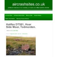 Halifax Mk II DT581 - crashed - Hoar Side Moor - 1943 - aircrashsites.pdf